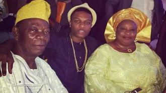 Image result for wizkid parents