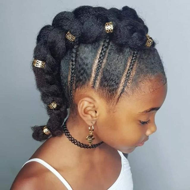 top 20+ best hairstyles for black girls in 2019 ▷ legit.ng