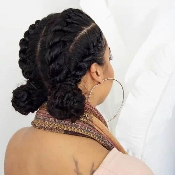 Top 30 Black Natural Hairstyles for Medium Length Hair in 2019 ...