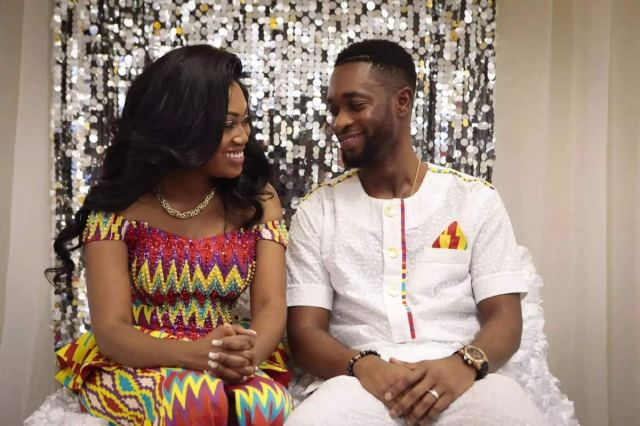 Fashion in Nigerian traditional styles: Couple