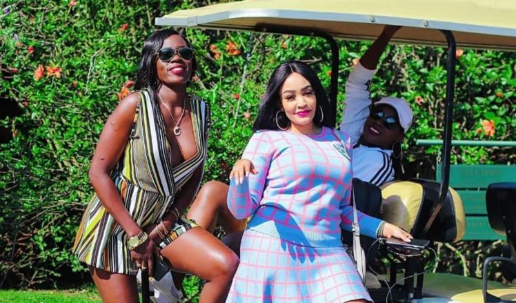 Image result for akothee with zari