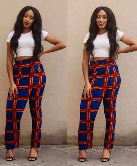 Latest Ankara pants styles for ladies in Nigeria
