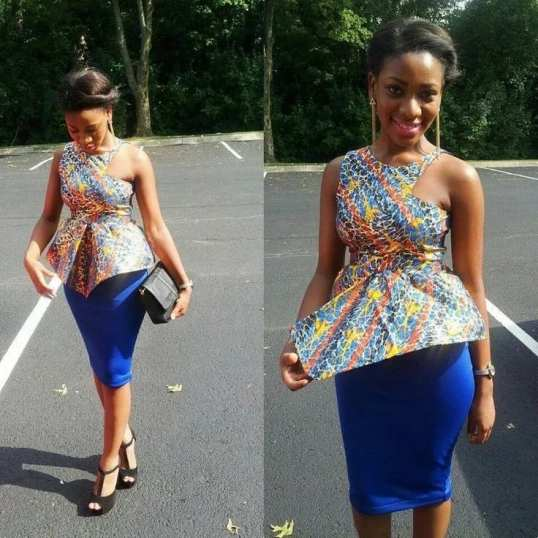 Latest Ankara styles for ladies in Nigeria