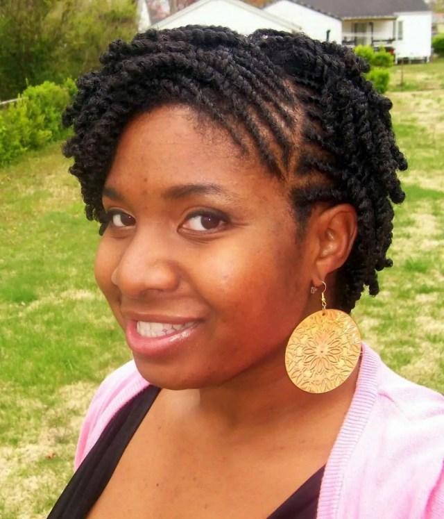 20 cute kinky twist hairstyles for short hair ▷ tuko.co.ke