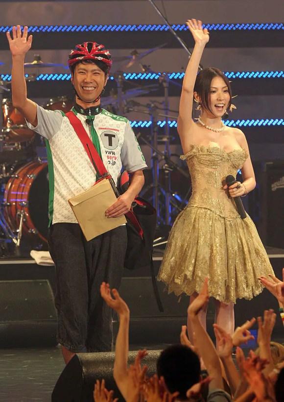 Takashi Fujii dan Megumi Hayashibara