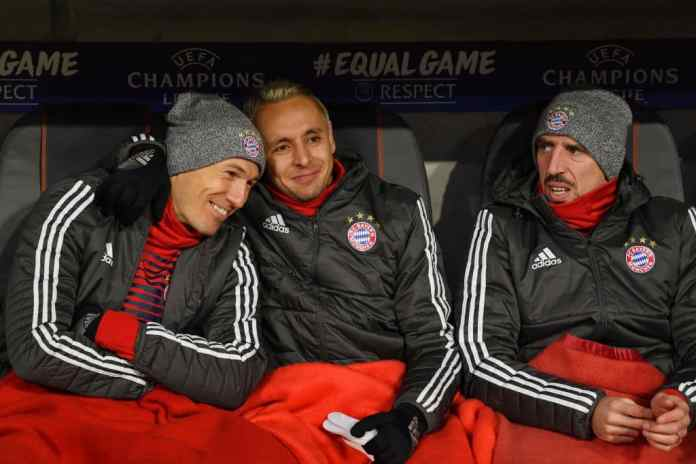 Franck Ribery breaks down in tears at Rafinha's emotional farewell press conference