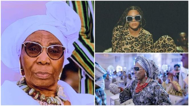 A collage showing the Nigerian woman. Photos sources: Instagram/Mojisola Odegbami/Variety