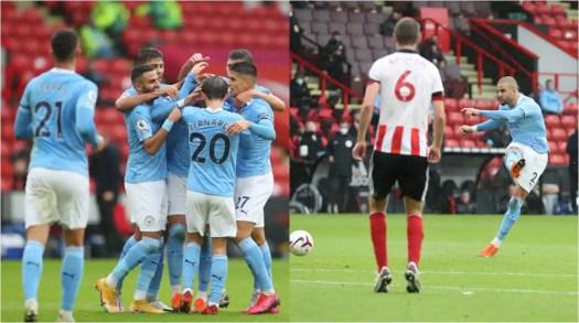 Manchester City narrowly beat Sheffield United 1-0 at ...