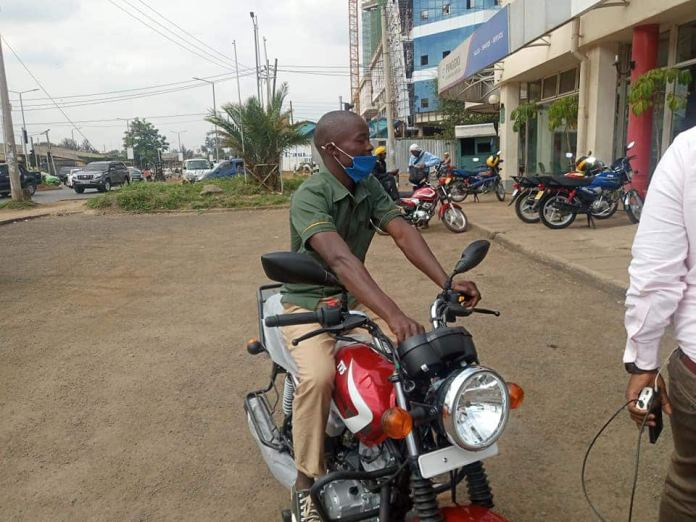 TPF contestant Alvan Love buys bodaboda for kind security guard who housed him