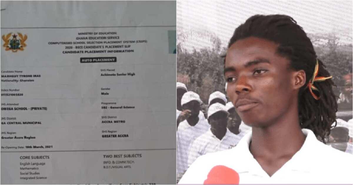 Tyrone Marghuy: Achimota Rasta Boy's Raw Scores In BECE, Other Certificates  Pop Up Online ▷ YEN.COM.GH