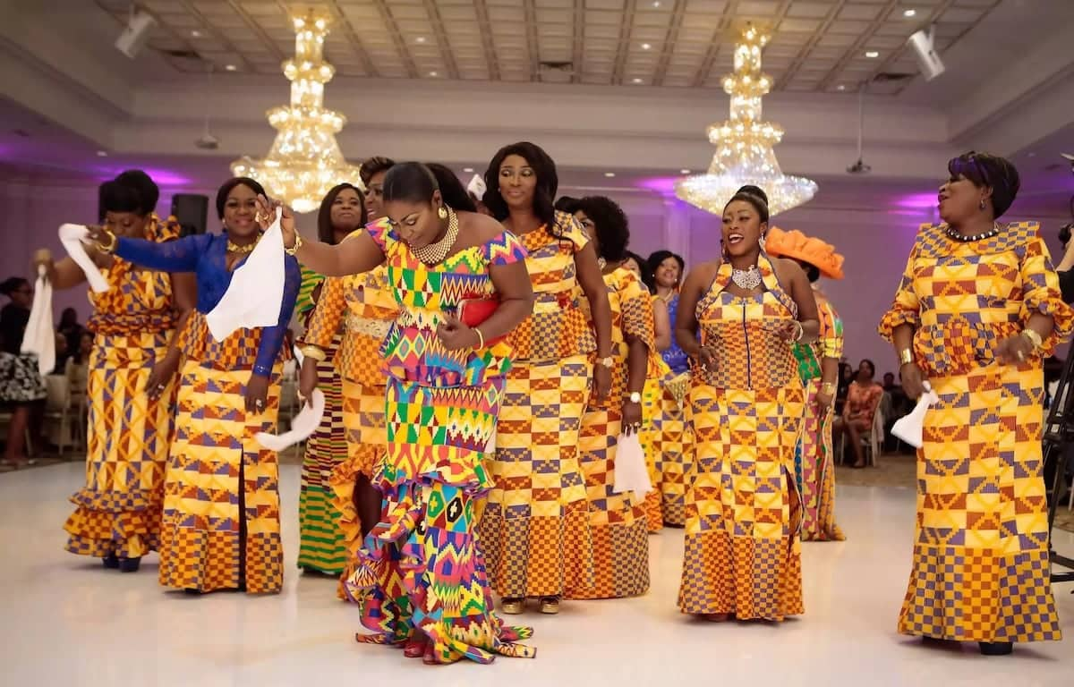 Ghanaian Traditional Wedding Dresses: Different Styles