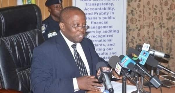 Auditor General says it's impossible to eliminate corruption in Ghana