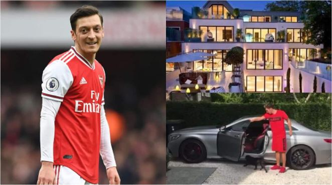 Flipboard: Inside Mesut Ozil's £10m luxury mansion that has 6 ...