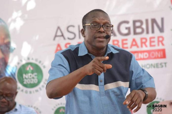 Ghanaians say Bagbin's campaign message is Mahama