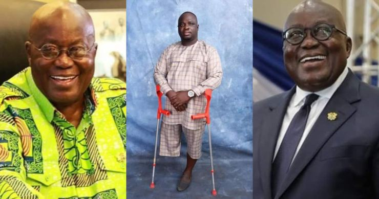 Joseph Makubu: Akufo-Addo appoints physically challenged man as Oti Regional minister