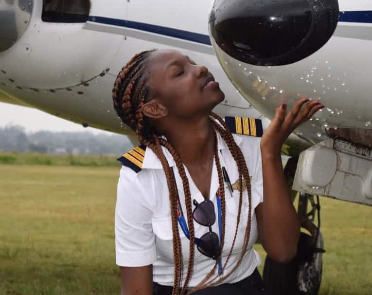 Meet Ghana's youngest female pilot; 21-yr old Audrey