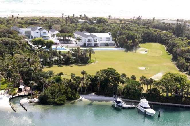 Inside Tiger Wood's expansive £41million home complete with golf course, restaurant and cinema theatre