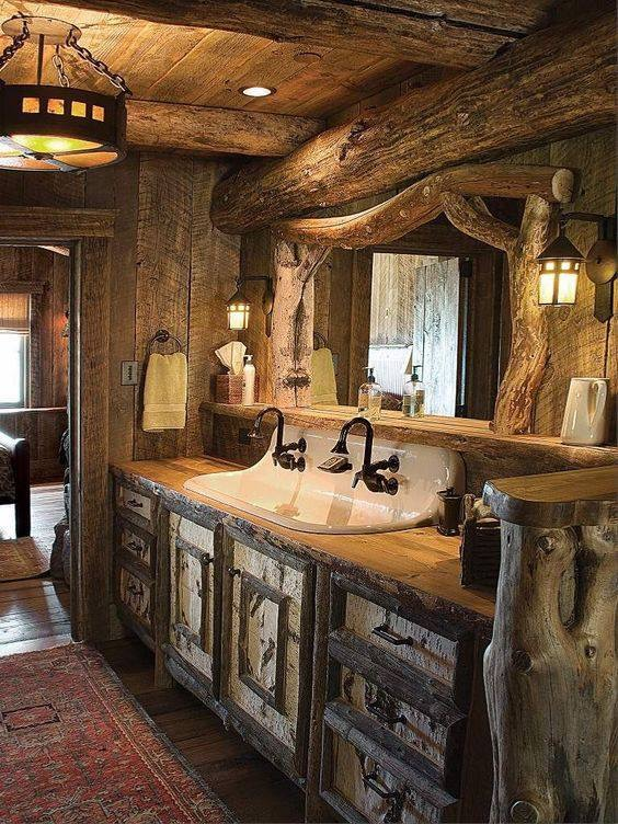 Log Cabin Home Decorating Ideas