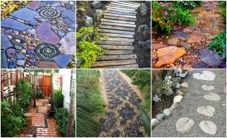 Gartenwege anlegen   30 traumhafte Ideen für jeden Garten ...