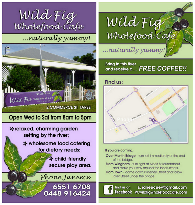 Flyers Designed and Printed