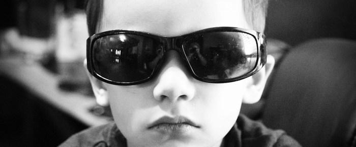 I Wear My Sunglasses…