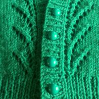 Green Vianne Cardigan