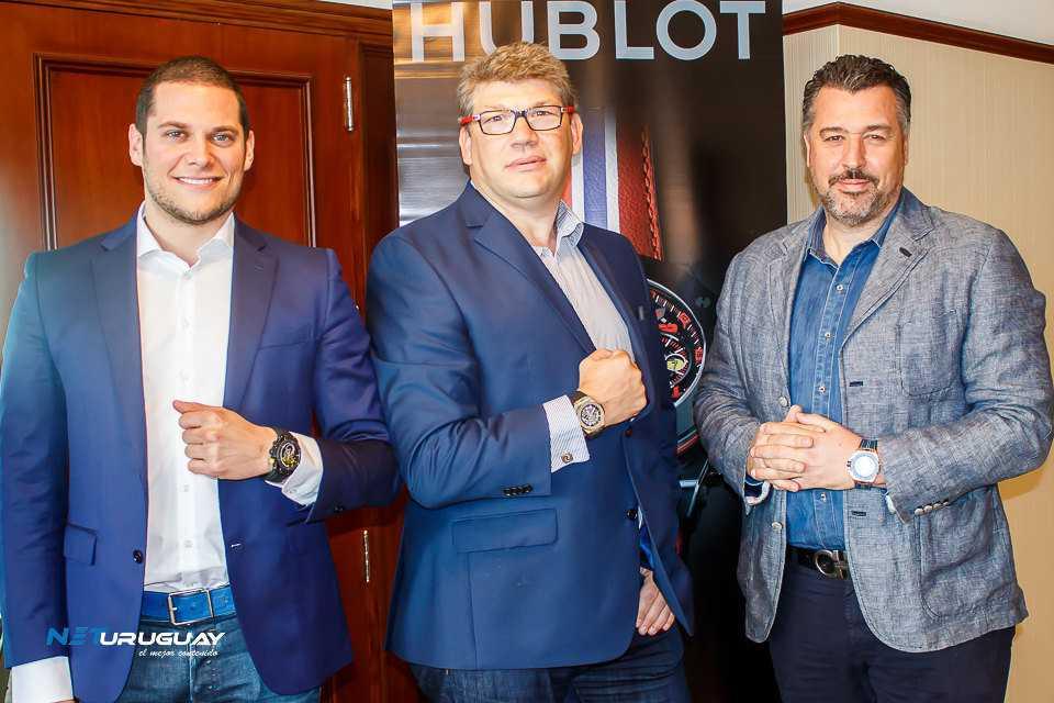 Directivos de Hublot visitan Uruguay y anuncian innovaciones en sus productos