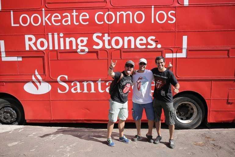 Santander acompañó al espectáculo más grande