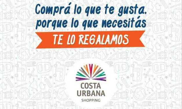 Costa Urbana Shopping entrega packs de útiles para acompañar la vuelta a clases