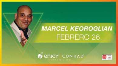 """Marcel Keoroglián cerrará el ciclo """"Noches de humor"""" en Enjoy Conrad"""