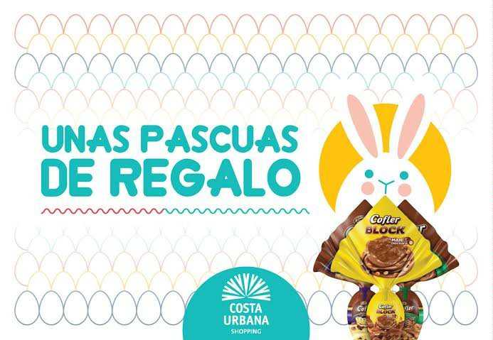 Costa Urbana Shopping endulza las Pascuas con huevos de chocolate Cofler