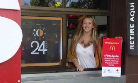 Continúa en McDonald's: #PintaAyudar