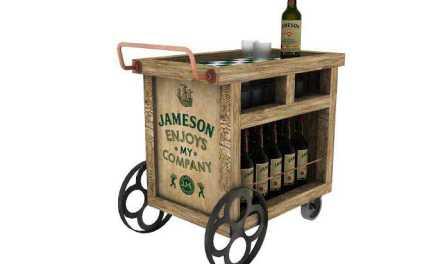 Whiskey Jameson regaló 30 originales y atractivos bares móviles