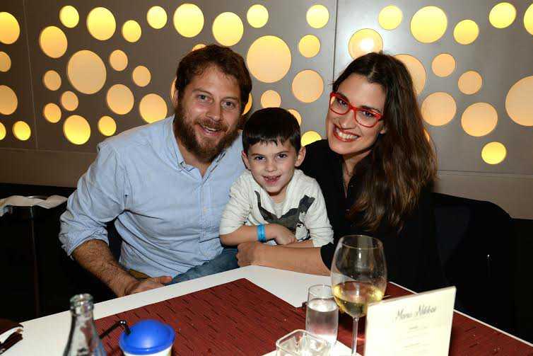 Pablo, Felipe Zanocchi y Lucía Brocal