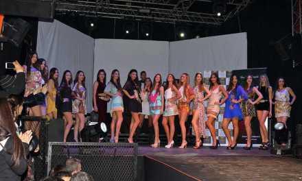 Finalistas de Miss Mundo Uruguay lucieron colección de Paola Santos en Montevideo Music Box