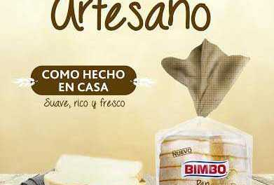 Bimbo reúne lo mejor de dos mundos en su nuevo Pan Artesano