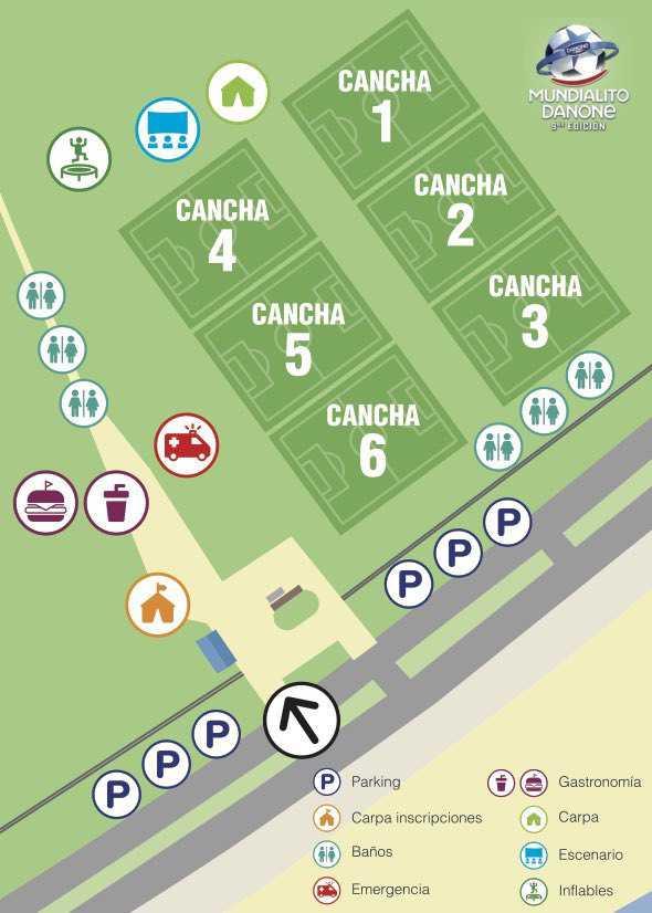 Más de 900 niños jugarán el Abierto de Montevideo del Mundialito Danone