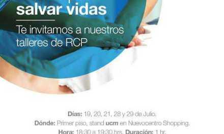 ucm realiza talleres demostrativos de RCP básica