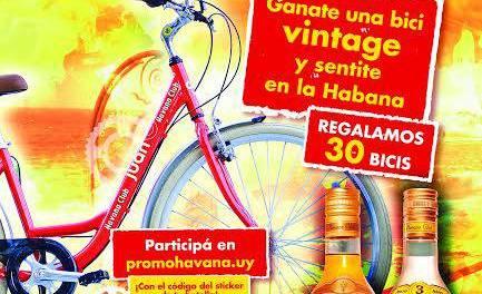 Havana Club regala 30 bicicletas vintage para pasear por la rambla y sentirse en el Malecón