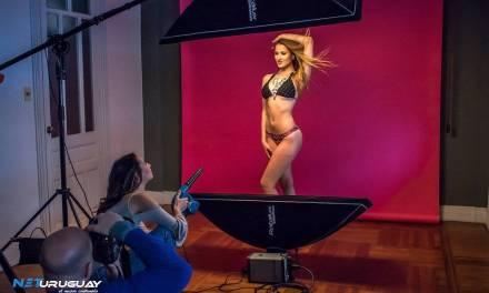 Te mostramos el back de las fotos oficiales de Miss Uruguay, previo a la final del 15 de septiembre