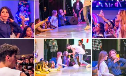 Fer Vázquez hizo estallar el LATU a plena emoción en el cierre de la Expo Miss 15