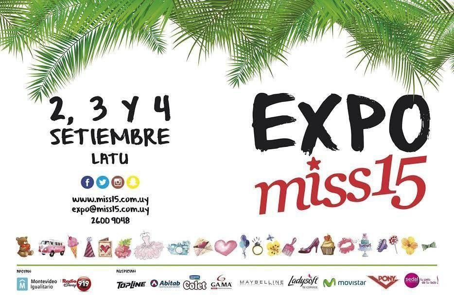 Este viernes 2 comienza EXPO MISS 15 en el LATU