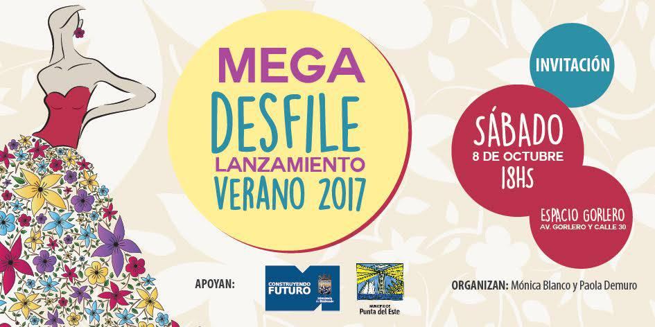 Se viene el primer Mega Desfile Lanzamiento del Verano 2017