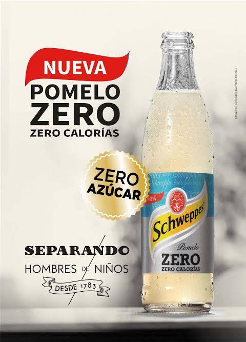 Schweppes Pomelo Zero llega a Uruguay ofreciendo el mismo sabor, cero azúcar