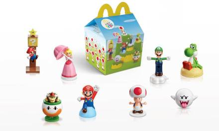Los famosos personajes de Super Mario llegan a la Cajita Feliz de McDonald's