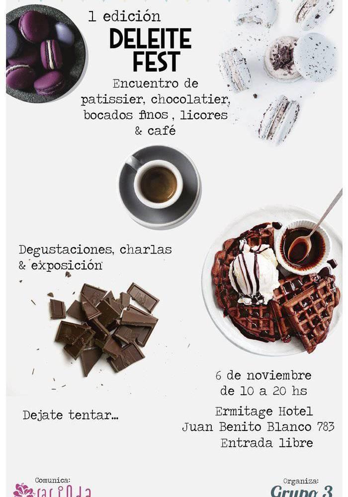 Deleite Fest: Encuentro de Patissier, Chocolatier, Bocados finos, Licores y Café