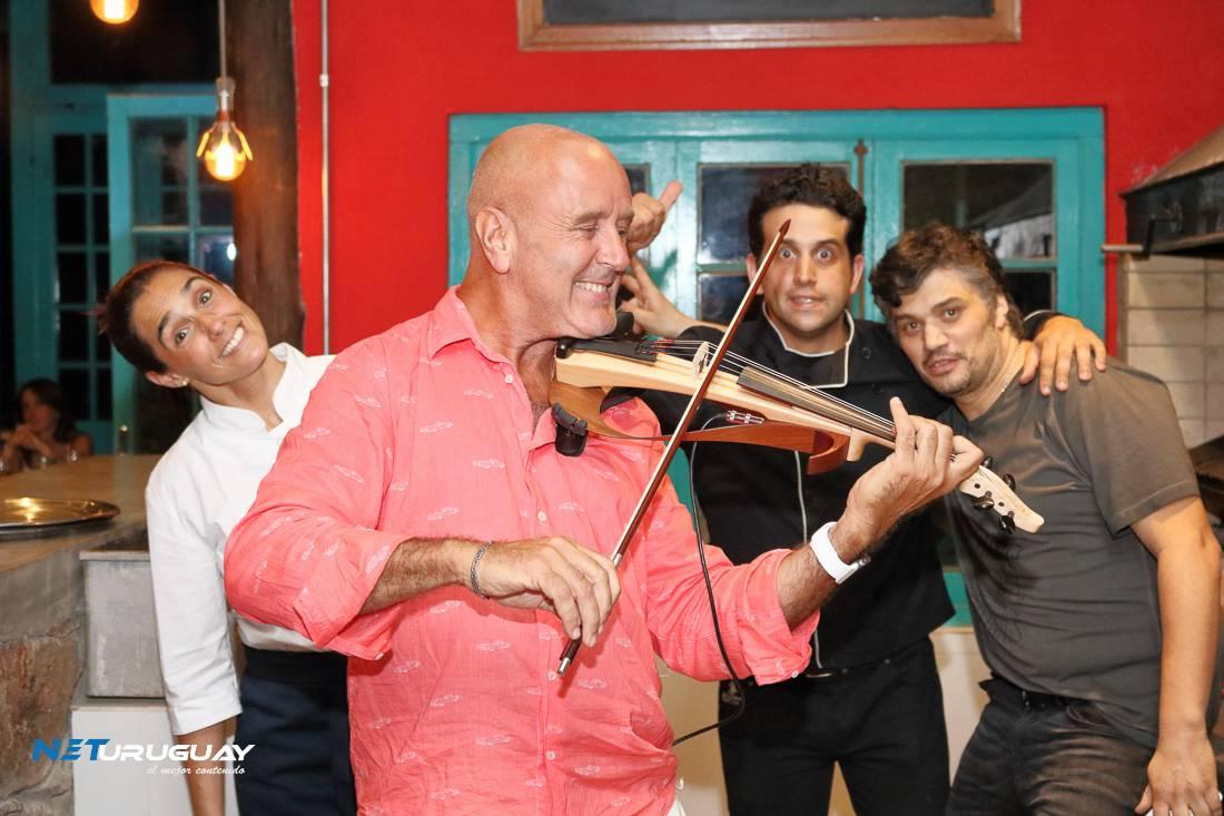 Minas vivió una espectacular Cena Show en la Estación Penitente, con chefs de primer nivel, música a la carta y famosos que viajaron puntualmente