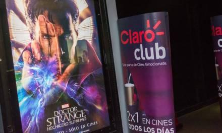 Clientes de Claro Club disfrutaron una función de cine plena de magia y acción