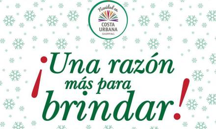 Costa Urbana Shopping invita a brindar en estas fiestas