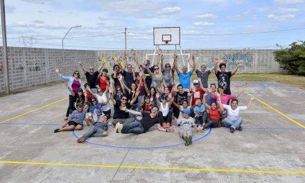 Voluntarios del Aeropuerto y Terminal de Cargas junto a Cimientos contribuyeron con liceo de Villa García